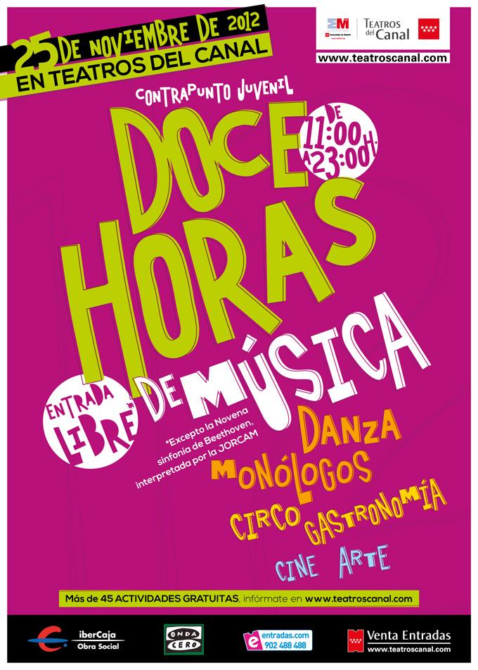 teatros del canal  Maratón Contrapunto Juvenil, Jornada de puertas abiertas