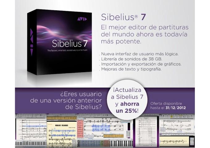 microfusa  Sibelius 7: El mejor editor de partituras del mundo