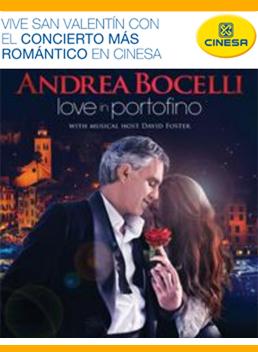 Andrea Bocelli Cinesa