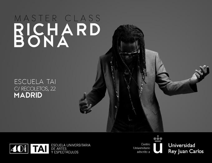 escuela tai  Master Class de Richard Bona