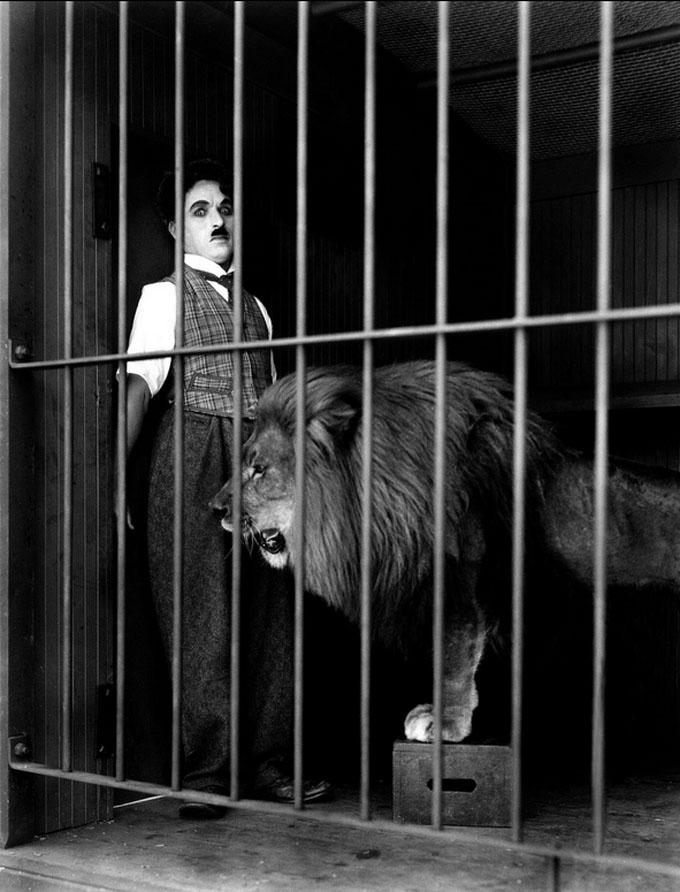 teatro de la zarzuela  The Circus (El circo) de Chaplin en la Zarzuela