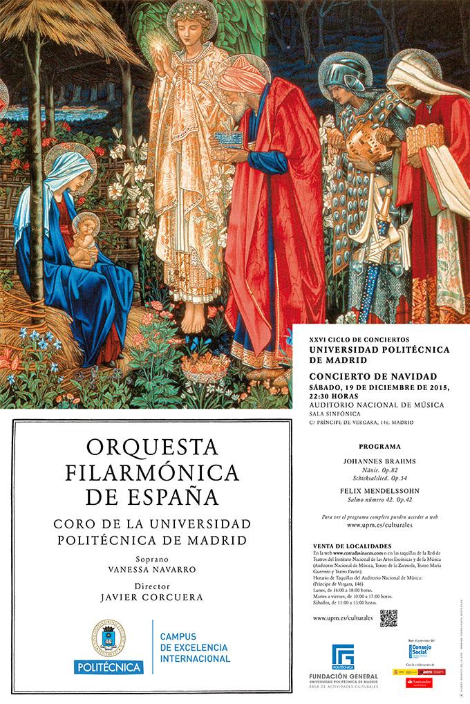 universidad politecnica de madrid  Concierto de Navidad del XXVI Ciclo de conciertos