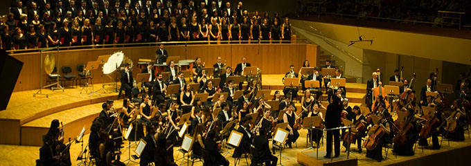 grupo concertante talia  Orquesta Metropolitana de Madrid y Coro Talía, dirigidos por Silvia Sanz Torre, celebran los 20 años del Grupo Concertante Talía