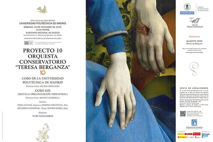 universidad politecnica de madrid  PROYECTO 10  en el XXVII Ciclo de conciertos Universidad Politécnica de Madrid