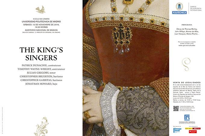 universidad politecnica de madrid  The Kings Singers abre el II Ciclo de Música de Cámara de la UPM