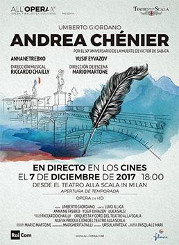 cinesa  La bohème y Andrea Chénier en la temporada de ópera de Cinesa