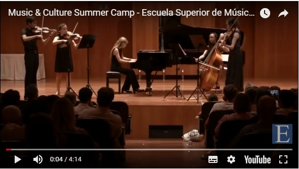 escuela superior de musica reina sofia  ¡No te quedes sin plaza en el Music & Culture Summer Camp!