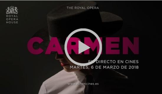 cinesa  La nueva producción de Carmen llega a la gran pantalla