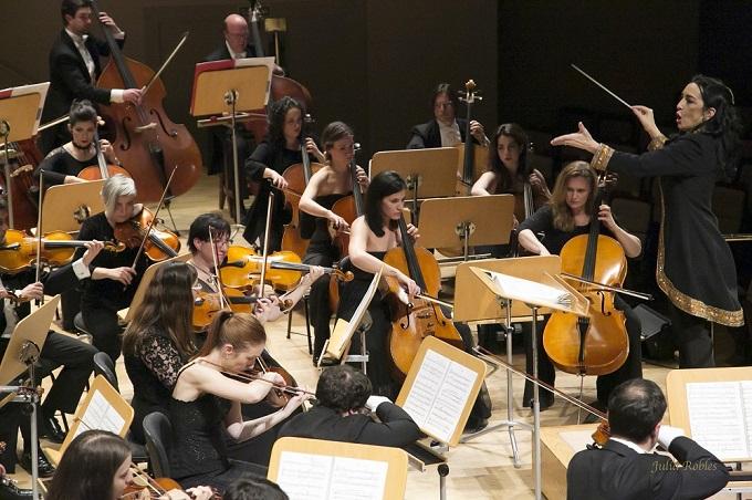 grupo concertante talia  Silvia Sanz Torre dirige Réquiem de Fauré y Bolero de Ravel en el concierto fin de temporada de Orquesta Metropolitana de Madrid y Coro Talía