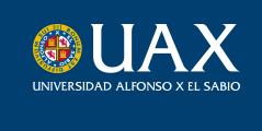 universidad alfonso x el sabio  Grados y Máster en Estudios Artísticos de la UAX