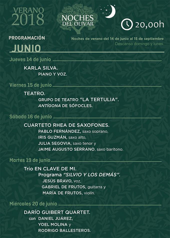 """fundacion olivar de castillejo  Comienzan Las """"Noches del Olivar"""" en el verano madrileño"""