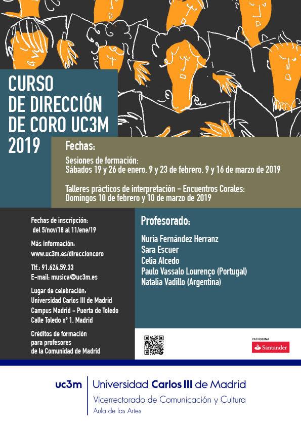 universidad carlos iii de madrid  Curso de Dirección de Coro UC3M 2019
