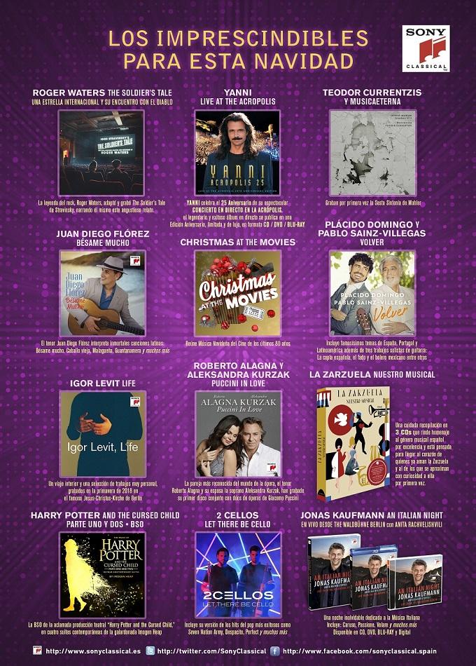 sorteo  Doce Notas y Sony Classical regalan la mejor música para disfrutar en Navidad