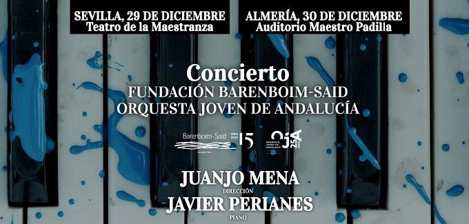 fundacion barenboim said orquesta joven de andalucia  Conciertos con Juanjo Mena y Javier Perianes
