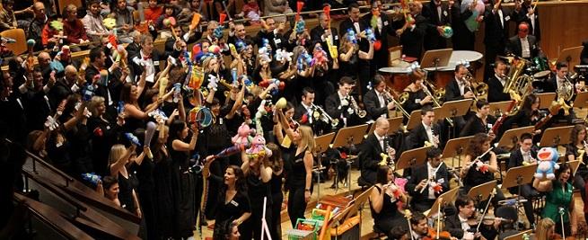 grupo concertante talia  Los juguetes vuelven al Auditorio Nacional de Música con la Orquesta Metropolitana y el Coro Talía