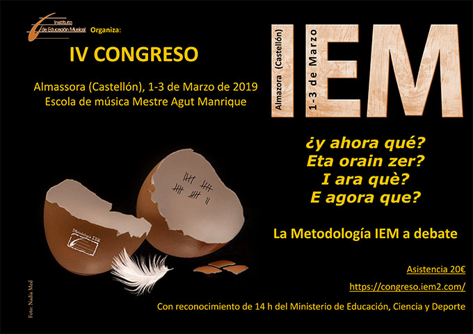 noticias instituto de educacion musical iem  IV CONGRESO DEL IEM