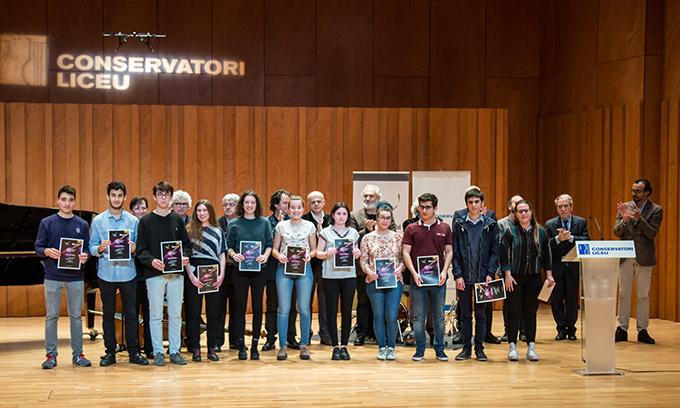 conservatori liceu  10ª edición de las Becas de la Fundación de Música Ferrer  Salat para Estudios Superiores de la Fundación Conservatori
