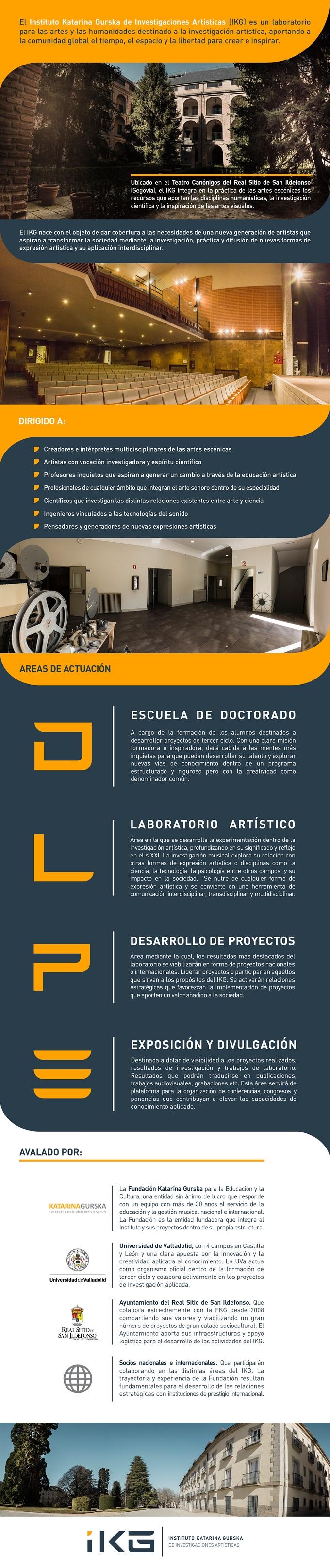 centro superior de ensenanza musical katarina gurska  Doctorado para la investigación artística interdisciplinar de la mano de la Universidad de Valladolid y la Fundación Katarina Gurska