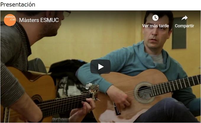 escuela superior de musica de catalunya  Preinscripción abierta a los Masters de la ESMUC