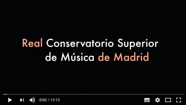 real conservatorio superior de musica de madrid  JORNADAS DE PUERTAS ABIERTAS 2019