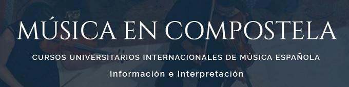 musica en compostela  LXII Curso Universitario Internacional de Música Española