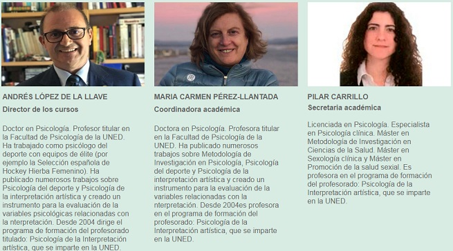 uned  Programa Modular de Formación en PSICOLOGÍA Y MÚSICA 2019/2020