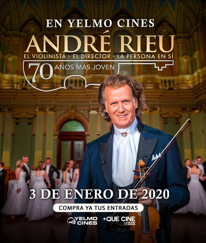 yelmo cines  Doce Notas y +Que Cine te invitan a ver el concierto André Rieu, 70 años más joven en Yelmo Cines de toda España