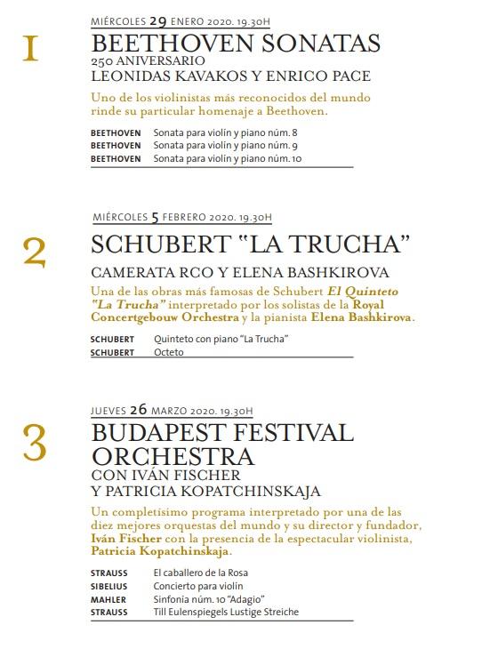 ibermusica orquestas y solistas del mundo  REGALA (IBER)MÚSICA POR NAVIDAD
