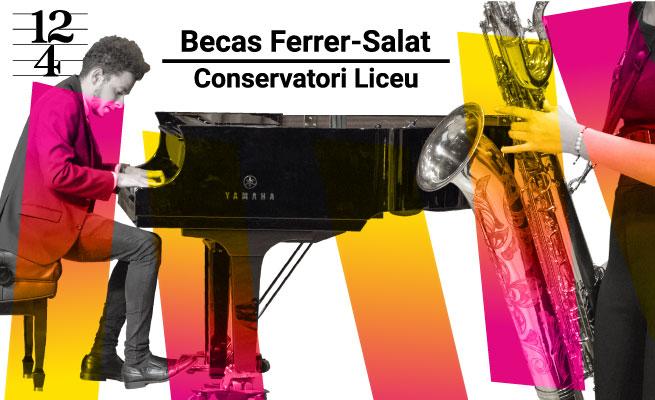conservatori liceu  XI edición de las Becas de la Fundación de Música Ferrer  Salat para Estudios Superiores de la Fundación Conservatori